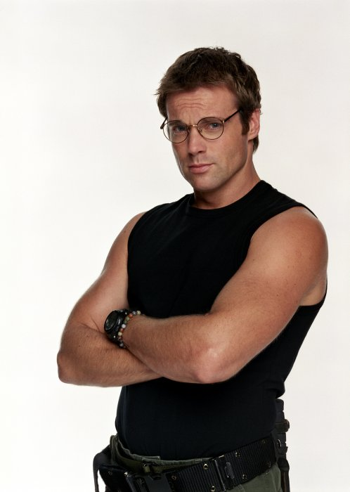Cutest Guy. Dr. Daniel Jackson. Between those glasses and love able smile,