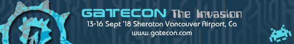 Gatecon: Sept 14-16 in Vancouver, BC