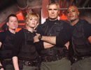 SG-1 with the addition of Jonas Quinn (left).