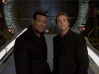 "Chris Judge and Michael Shanks in ""Behind the Mythology of <I>Stargate SG-1</I>"""
