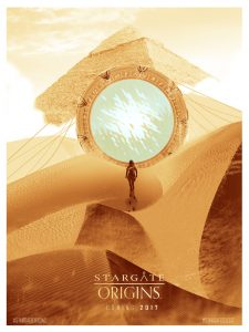 Stargate Origins concept poster