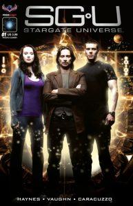 """""""Back to Destiny' (SGU Comic #1) - Photo Cover"""