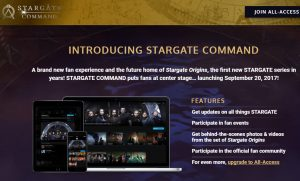 Stargate Command launch screen