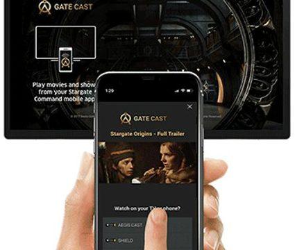 Gate Cast - Stargate Command Casting