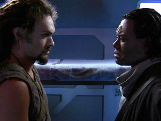 Midway (SGA 417) - Ronon and Teal'c