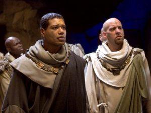 Teal'c and the Free Jaffa (Ex Deus Machina)