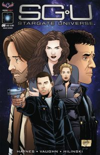 Back to Destiny #6 (SGU Comics)