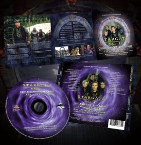 Children of the Gods – Final Cut Soundtrack (CD Internal)
