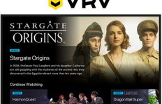 Stargate Command on VRV