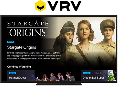 Stargate Command on VRV