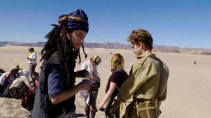 Stargate Origins - Daniel Rashid (BTS)