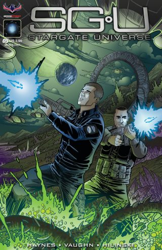 Back to Destiny #5 (SGU Comics)