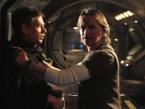 Darkness (SGU 104) - Rush and Riley