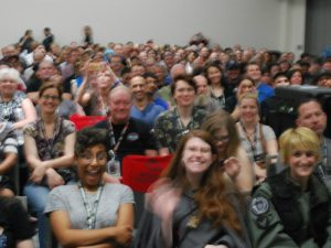 Stargate Panel Crowd (San Diego 2018)