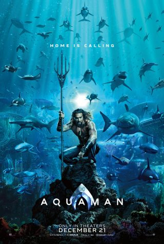 Aquaman Poster (2018) - Jason Momoa