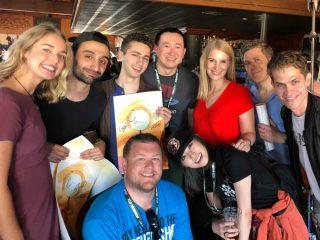 San Diego Comic-Con Party (David and SGO Cast)