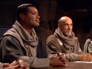 Stronghold (SG-1 914) - Teal'c and Bra'tac