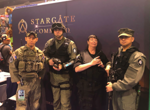 Stargate fans at WonderCon 2018
