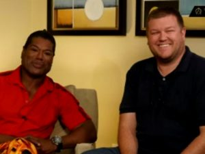 """Dialing Home"" Hosts Christopher Judge & David Read"