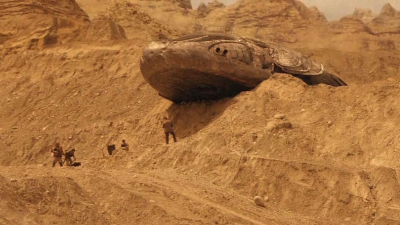spacecraft found over pentagon - 1280×720