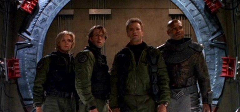 """SG-1 Team (""""Children of the Gods"""")"""