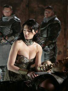 Claudia Black as Vala Mal Doran (Stargate Continuum)