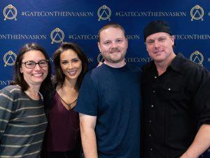 Darren, Christy, Lexa, and Michael (Gatecon 2018)