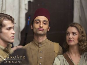 Philip, Shvan, Ellie (Stargate Origins Behind-the-Scenes)