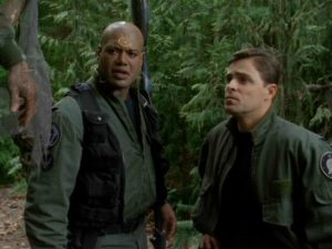 "Teal'c and Lorne (""Enemy Mine"")"