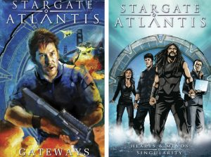 Stargate Atlantis Trade Paperback Covers