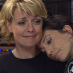 "Vala Hugs Sam (""The Road Not Taken"")"