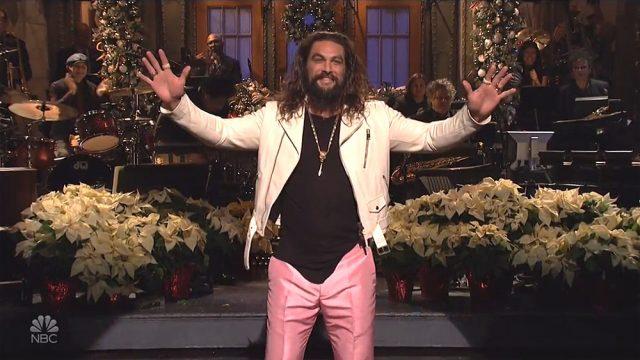 Jason Momoa Hosts SNL