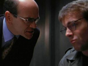 """Woolsey and Daniel (""""Heroes, Part 2"""")"""
