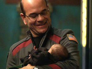 "Woolsey and Teyla's baby (""Broken Ties"")"