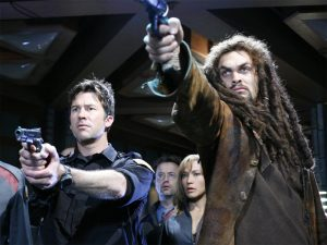"Sheppard and Ronon (""Ghost in the Machine"")"