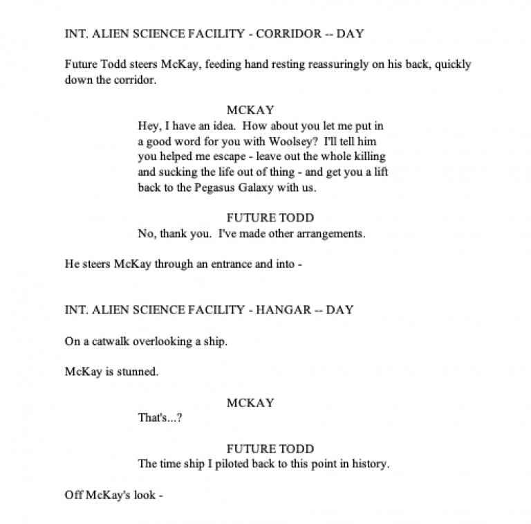 Stargate Extinction - Teaser Page 5
