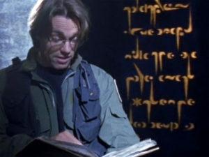 """Furling script (""""The Torment of Tantalus"""")"""