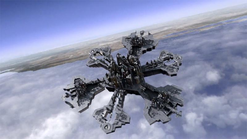 "Atlantis landing on Earth (""Enemy at the Gate"")"