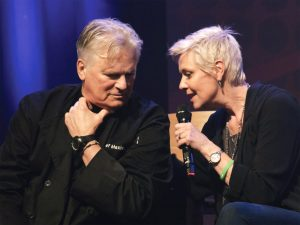 Richard Dean Anderson and Amanda Tapping (Wales Comic Con, April 2019)