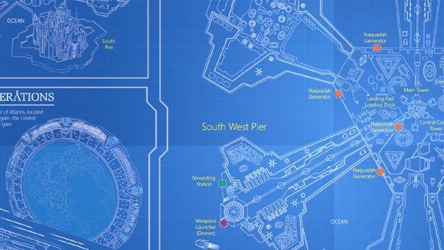 Stargate Atlantis City Blueprints (The GateBuilder)