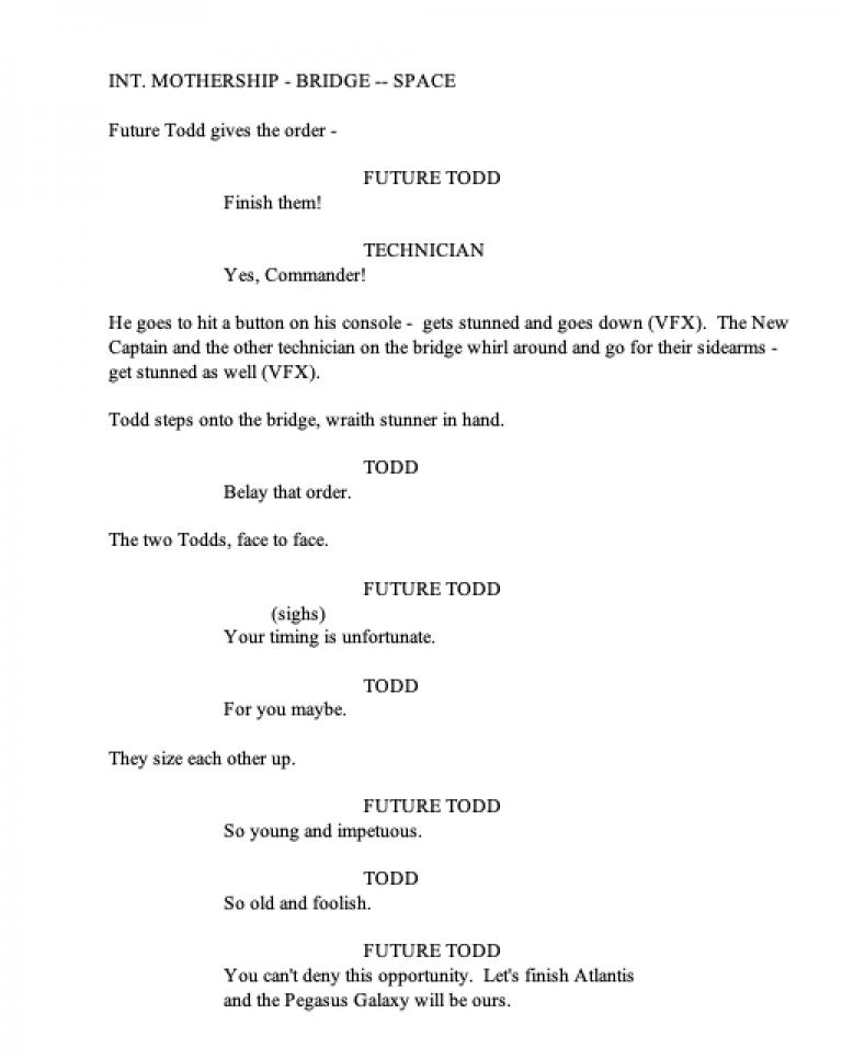 Stargate Extinction - Teaser Page 8