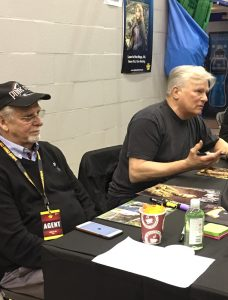 Wales Comic Con (2019) - Richard Dean Anderson autograph table