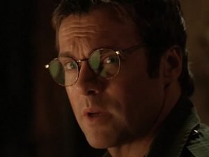 Reflections in Daniel's glasses