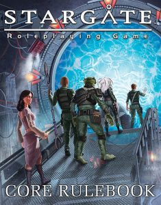 Stargate Roleplaying Game (Wyvern Games) - Core Rulebook