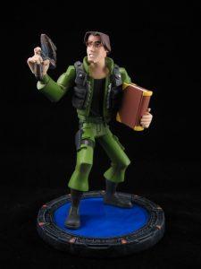 Daniel Jackson maquette statue