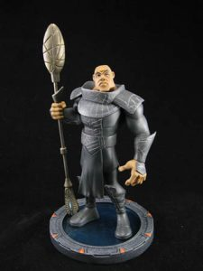 Teal'c maquette statue (Quantum Mechanix)