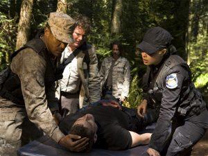 """Lt. Scott in trouble (""""Cloverdale"""")"""