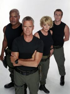 SG-1 (Season 7 Cast Photo)