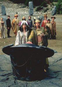 """Apophis and Amonet (""""Children of the Gods"""")"""