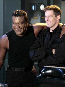 Chris Judge and Ben Browder